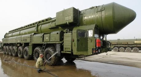 Под Астраханью провели испытательный пуск баллистической ракеты